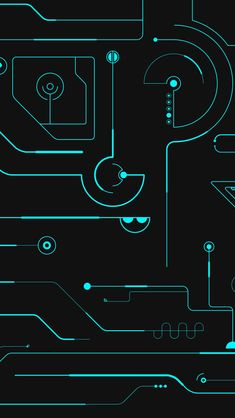 Circuit Board iPhone 5s wallpaper