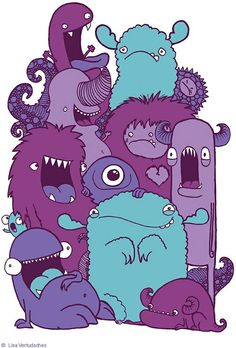 Monsters By~ Lisa Vertudache