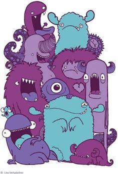 Monsters By~ Lisa Vertudache