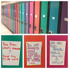 Find out how students celebrated Random Acts of Kindness Week by leaving nice, positive notes on each other's lockers at school.