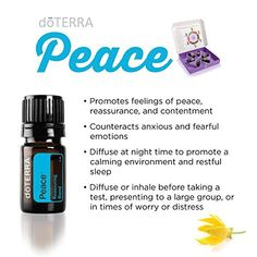 How to use doTERRA Peace Blend