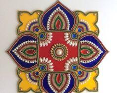 Sale Indian bollywood Rangoli Kundan Rangoli for by Kalakruti