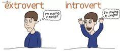 Extrovert guy dating introvert girl