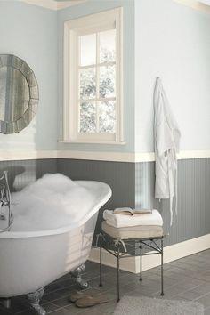 Badezimmer - neutrale Farben
