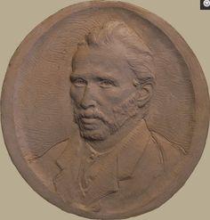Vincent Van Gogh relief sculpture by Daniel Altshuler