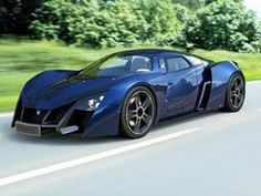 Marussia Luxury Sports Car from Russia.