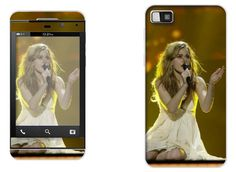 Emmelie de Forest (Dinamarca), ganadora del festival de Eurovision 2013, para Blackberry Z10