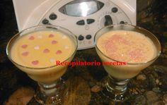 Recopilatorio de recetas : Natillas de chocolate blanco con thermomix