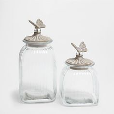 JAR WITH CLEAR LID