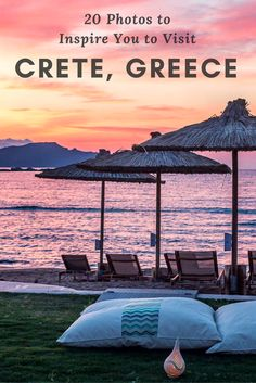 20 PHOTOS TO INSPIRE YOU TO VISIT CRETE, GREECE - Looking for travel destinations to add to your bucket lists? Take a look at these 20 photos that will inspire you to visit beautiful Crete - The island of beautiful beaches, amazing sunsets & delicious food