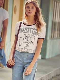 Led Zeppelin Tee at Free People Clothing Boutique