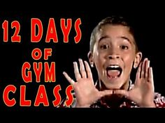 My K-2 students love this song. 12 Days of Gym Class - Children's Fitness Song by The Learning Station