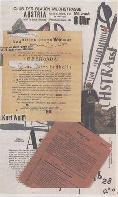 Johannes baader, Raoul Hausmann, Dada Milchstrasse, vers 1919-1920, Kunsthaus Zürich, Graphische Sammlung, Zurich.
