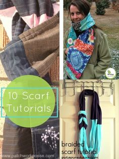 scarf tutorials | pa
