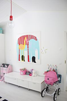 at home: Tyttöjen huoneessa