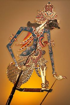 Wayang Betara Bayu Solo - love the colors for home incorporation.