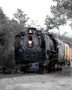 Union Pacific Steam Engine #844