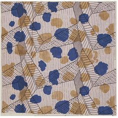 Textile design by Vanessa Bell, sister of Virginia Woolf