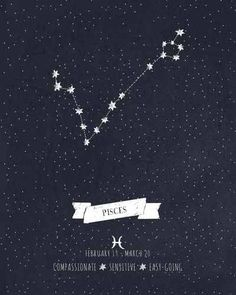 Pisces constellation tattoo! I think this should be my next one?