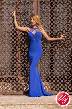 """gardenofelegance: """" Garden of Eleganceಌ """" Sexy Dresses, Blue Dresses, Short Dresses, Formal Dresses, Mermaid Gown, Summer Collection, Fancy, Gowns, Style"""