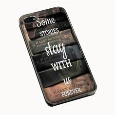 Harry Potter Book iPhone 4(S) 5(S) 5C Cases