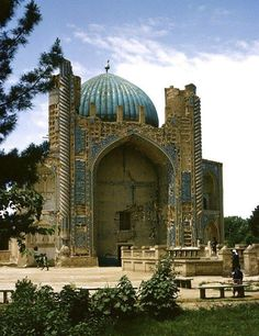 Khwaja Abu Nasr Parsa Mosque, Balkh, Afghanistan (15th-16th century) Afghanistan Afghan Images Social Net Work: سی افغانستان: شبکه اجتماعی تصویر افغانستان http://seeafghanistan.com