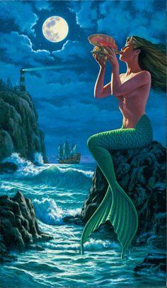 Sempre tive uma paixão por sereias, não sei dizer o motivo, mas quando criança pirava em filmes!!!