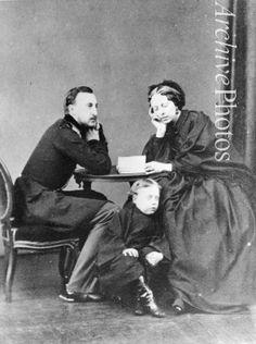 - Grand Duke Nicholas Nikolaevich (the Elder) of Russia (1831-1891) with his wife, Grand Duchess Alexandra of Oldenburg (1838-1900