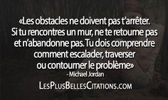 Obstacles - Michael Jordan