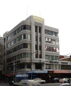 Art Deco Buildings from the 1930s in Melbourne