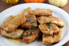 Recipe: Pork Recipes / Pork Tenderloin with Marsala Recipe - tableFEAST Pork Tenderloin Recipes, Pork Recipes, Cooking Recipes, Recipies, Pork Chops, Greek Recipes, Italian Recipes, Marsala Recipe, Pork Ham