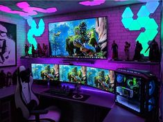 The gaming chair you see is the Noblechairs Epic. But is it the best gaming chair you can find ? Find out what chair you should buy instead. Gaming Desk Setup, Computer Gaming Room, Best Gaming Setup, Gamer Setup, Computer Setup, Pc Setup, Gaming Chair, Computer Laptop, Computer Technology
