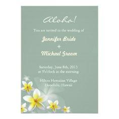 Destination Wedding Invitation