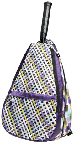 Check out our Geo Mix Glove It Ladies Tennis Backpack! Find the best tennis gear and accessories at Lori's Golf Shoppe. Click through now to see this!