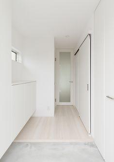 Drop of ink Minimalist Apartment, Minimalist Decor, My Secret Garden, Home Bedroom, My Room, Entrance, Garage Doors, Interior Design, Architecture