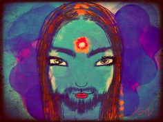 Jesus©Art by Kami. No part of this image may be reproduced without the express written consent of the artist