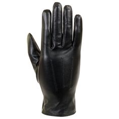 Isotoner women's classic Thinsulate lined leather gloves, 100% Leather shell, Thinsulate lined, Natural fine-grained leather, legendary fit, Color options: Black, red, Materials: Leather, Polyester, C