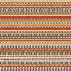 Morocco Orange Textured Chenille Orange Upholstery Fabric