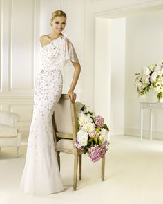 Wedding Dresses 2013 Wedding-gown-dresses,discount Tulle Flutter One Shoulder Strap Sheath Wedding Dress 0052 bridal gowns Wedding Dress 2013, Pronovias Wedding Dress, Wedding Dress Styles, Bridal Dresses, One Shoulder Wedding Dress, Wedding Gowns, Bridesmaid Dresses, Prom Dresses, Tulle Wedding