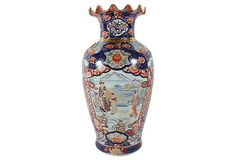 Japanese Imari Floor Vase on OneKingsLane.com