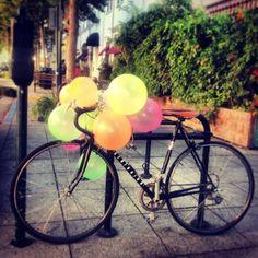 Week 26: Leave a surprise on a stranger's bike.