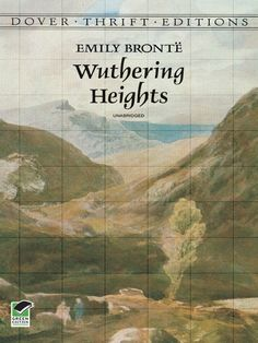 "Wuthering Heights, by Emily Brontë ""A somber tale of consuming passions and vengeance played out against the lonely moors of northern England, [this] book proved to be one of the most enduring classics of English literature. English Literature, Classic Literature, Classic Books, Victorian Literature, British Literature, Literature Books, Great Books, My Books, Emily Brontë"