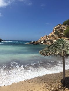 Cala Carbo Ibiza on a windy day