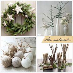 Natural Christmas #holiday #decor
