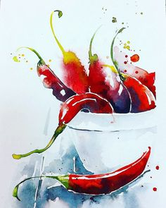 Новости watercolor watercolor paintings, watercolor art и wa Watercolor Art Diy, Watercolor Fruit, Watercolor Art Paintings, Watercolor Artists, Watercolor Illustration, Watercolor Flowers, Painting & Drawing, Watercolor Scenery, Watercolours