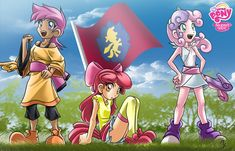here a fan art of CMC that are more in the group but wanted to draw the three who started not know about you but I think I did Sweetie Belle big head XD fan CMC Mlp My Little Pony, My Little Pony Friendship, Human Mlp, Sweetie Belle, Little Poni, My Little Pony Pictures, Fanart, Rainbow Dash, Equestria Girls