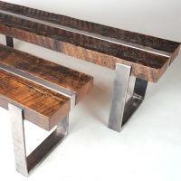 cedar rail benches