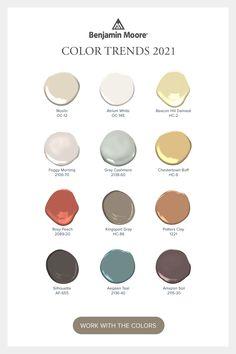 Colores Benjamin Moore, Benjamin Moore Paint, Benjamin Moore Colors, Paint Color Schemes, House Color Schemes, House Colors, Kitchen Paint Schemes, Neutral Color Scheme, Exterior Paint Colors