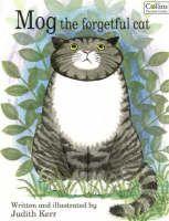 Mog (di Judith Kerr) -Mog è il personaggio principale di una serie di libri per bambini scritti da Judith Kerr. Altri personaggi che si verificano regolarmente includono coniugi Thomas (proprietari di Mog) ei loro due bambini Nicky e Debbie. In ogni Mog entra in un enigma diverso con un nuovo personaggio o evento. Insolitamente per una popolare serie per bambini, Mog muore nel libro finale, del 2002 Addio, Mog.