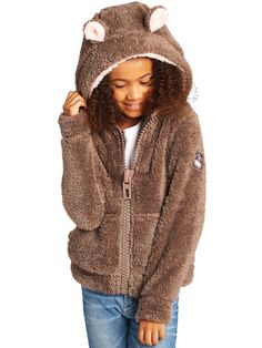 Teddy Brown Soft Furry Sweater – BeGummy